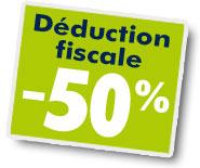 Deduction fiscale 50% emploi Bergerac Dordogne